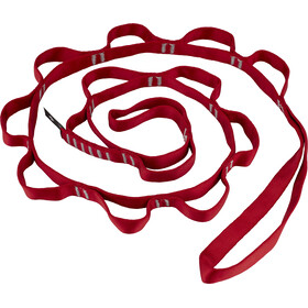 Black Diamond Nylon Daisy Chain 140cm / 18mm red